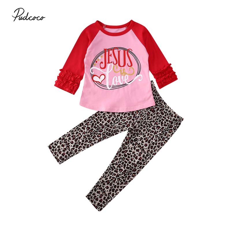 Love Italy Heart Italia Fashion Toddler Children Baby Boys Girls Long Sleeve Tee Tops