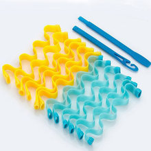 DIY Magic Hair Curler Portable Bendy Rollers 12PCS Hairstyle Roller Sticks Durable Beauty Makeup Curling Hair Styling Tools