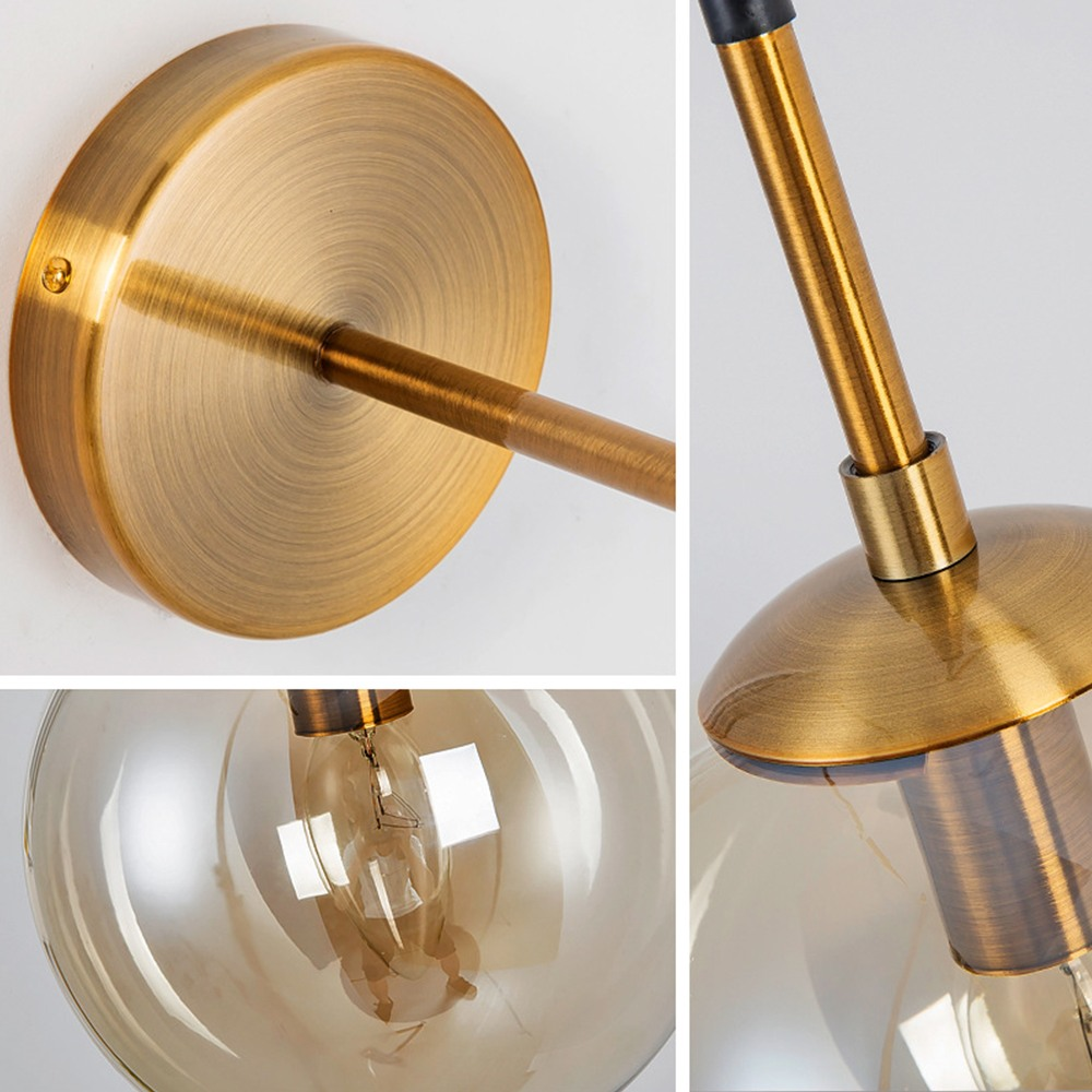 Nórdico moderno do vintage conduziu a lâmpada