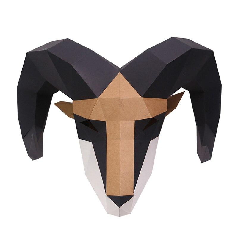 מסכת ראש אוריגמי - אייל  6