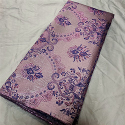 2021 High Quality Brocade Lace Embroidery Flower African Lace Fabric Jacquard Tissue French Lace Fabric For Weding P1858