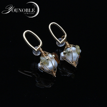 Trendy Wedding Handmade Pearl Earring Women,cute 925 Silver Earring With Natural Pearls Girl Best Gift