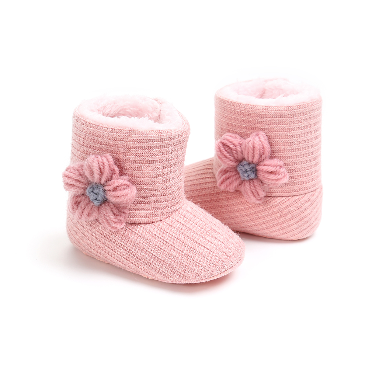 Newborn Baby Infant Toddler Boy Girl Unisex Casual Snow Boots Crib Shoes Prewalker Booties