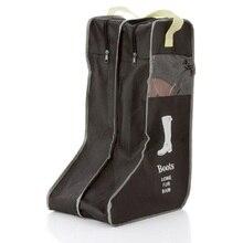 Сумка для хранения обуви обувь сапоги сумка для ручной клади визуальные пыленепроницаемые сапоги коробка сапоги органайзер коробка на молнии сумка