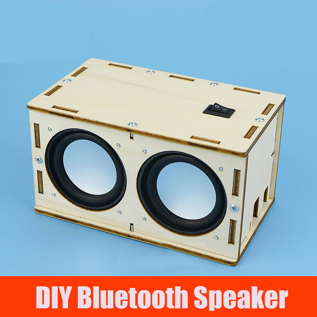 Creative Educational DIY Blutooth Speaker DIY Electrical Toys For Children The Best Present For Kids Jouets électriques#2