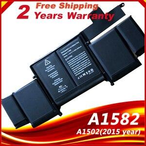 Image 1 - Аккумулятор для ноутбука A1582, для Apple MacBook Pro 13 дюймов Retina A1502, 2015 год