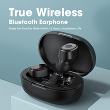 TWS Bluetooth 5.0 Earphones For Xiaomi Microphone LED Display Wireless Stereo Earbuds Headphone IPX7 Noise Cancelling Headset