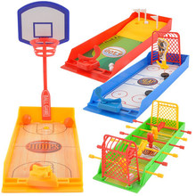 Board Game for Children Boy Mini Golf Basketball Ice Hockey Foosball Toy Set Antistress Table Games KidsParent Child Interaction(China)