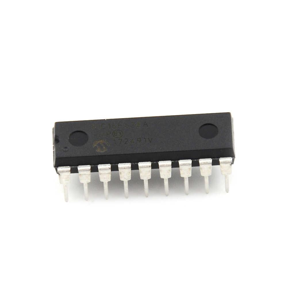 1 個 IC マイクロチップ DIP-18 PIC16F628A PIC16F628A-I/P マイクロコントローラプロセッサ時計モード低電圧低速