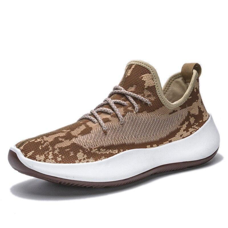2020 Men Vulcanize Shoes Sneakers Wear-resisting Non-slip Male Mesh Tenis Masculino Plus Size