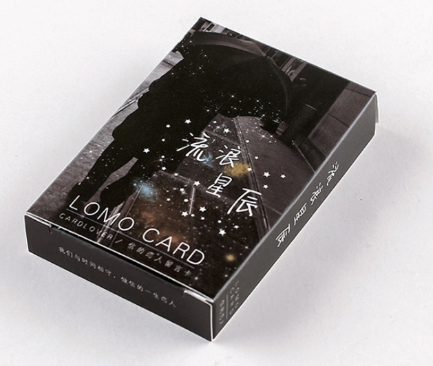 52mm*80mm Lonely Star Paper Greeting Card Lomo Card(1pack=28pieces)