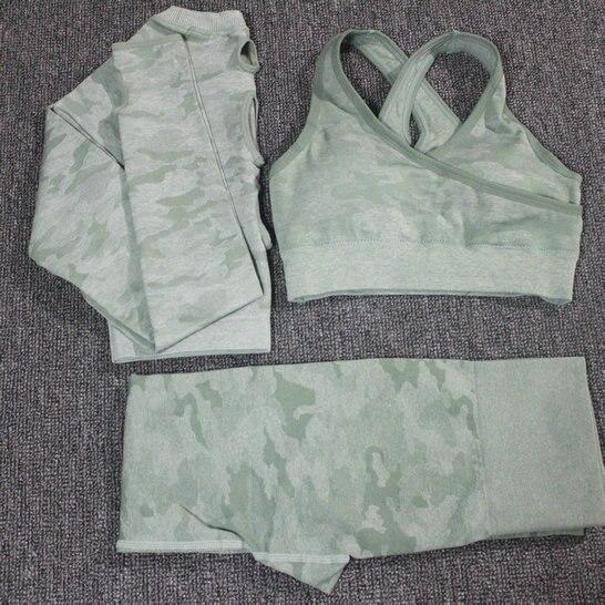 3PCS Green Set