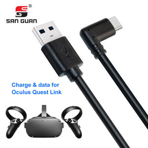 Data-Charging-Cable Right-Angle USB Type-C 5M for Oculus Quest-Link Elbow-Support 10feet