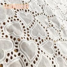130 см ширина кружева ткань чистая хлопковая с вышивкой ушко