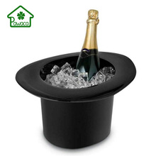 Magic Hat Shape 1.2L Funny Ice Bucket 40 Oz Thickened Champagne Wine Beer Drinks Cooler Waterproof Kitchen Bar Party Ice Bucket smad 2qt practical ice bucket octagon design wine cooler bar party chiller portable mini dualrable champagne ice can keeper