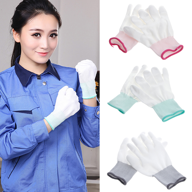 1Pair Anti Static Antiskid Glove PC Computer ESD Electronic Work Repair Gloves