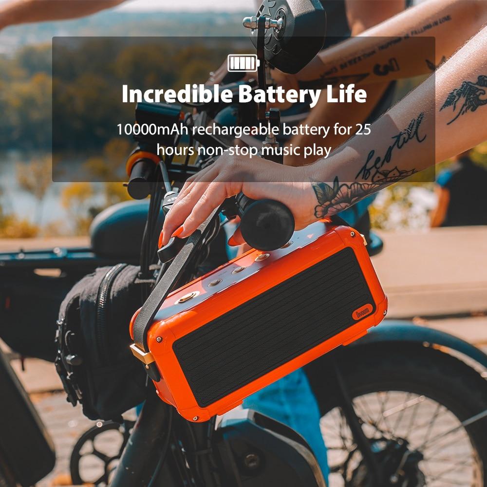 Divoom Bluetooth-Speaker Superior-Bass Home-Decoration Retro-Design 6-Drivers Smart Portable Wireless