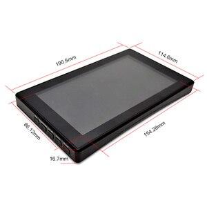 Image 5 - Raspberry Pi 4, modelo B/ 3B +/ 3B, pantalla de 7 pulgadas con caja de pantalla LCD, 7 pantallas de Monitor, pantalla táctil capacitiva IPS de 1024x600