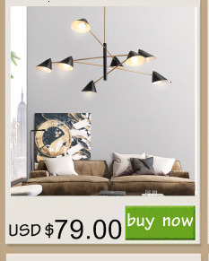 H6f21ed29b20840bd8606cf29cb3cd3f41 MDWELL Matte Black/White Finished Modern Led Ceiling Lights for living room bedroom study room Adjustable New Led Ceiling Lamp