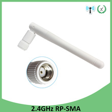 цена на 2.4ghz Antenna 3dbi RP-SMA wifi antenna Aerials 2.4 Ghz antenne SMA Plug Connector wi fi Antena wi-fi antennas for router