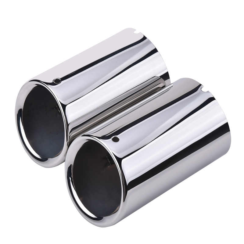 espeeder car accessory exhaust tip muffler decoration car styling car stainless steel exhaust pipes tips for audi q3 auto parts