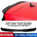Pour Volkswagen GOLF 7 GOIF 7.5 VW MK7 MK7.5 2014 2018 voiture ABS toit arrière aileron arrière fenêtre ailes GTI R Rline Wagon 2014 2019|Ailerons de voiture|   -