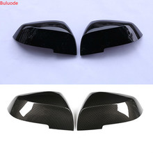 1 Pair Rearview Mirror Cover Cap for BMW Series 1 2 3 4 X1 M 220i 328i 420i F20 F21 F22 F23 F30 F32 F33 F35 F36 X1 E84 M2 F87 universal replacement carbon fiber mirror cover for bmw rearview door mirror covers x1 f20 f22 f30 gt f34 f32 f33 f36 m2 f87 e84