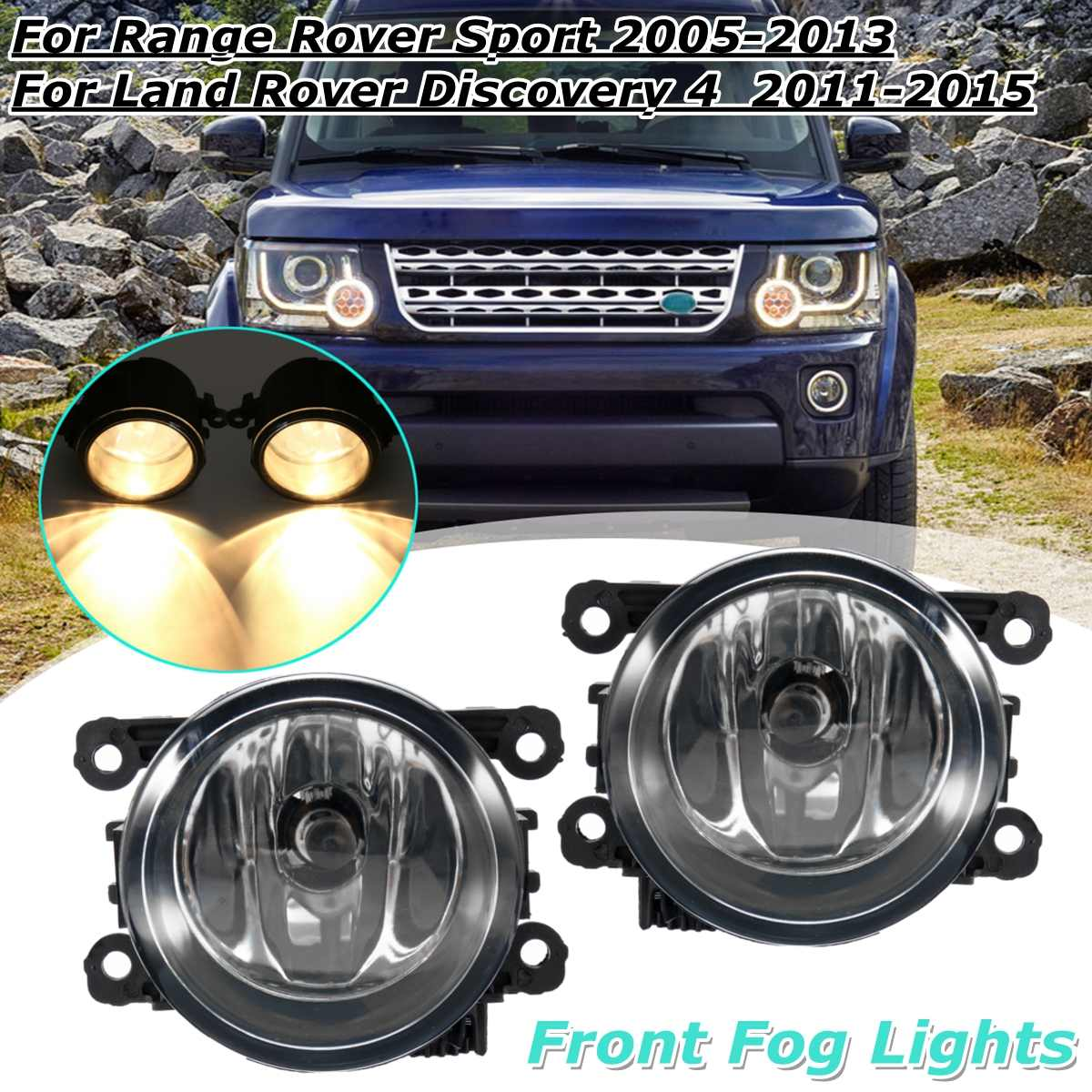 Land Range Rover Evoque descubrimiento Sport Derecho RH Parachoques Delantero Lámpara LED Foglight