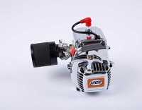 32cc 4 Bolts Chrome Engine with Air filter damper for 1/5 Hpi Rovan KM Baja 5b 5t 5sc 4wd Losi 5ive t Rc Car Parts