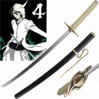 Carbon steel real katana swords 41 Inch Anime Bleach Ulquiorra cifer's Sword plating blade decoritive cosplay no sharp props