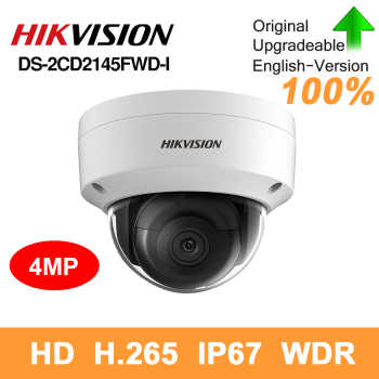 Hikvision original DS-2CD2145FWD-I PoE IP Camera 4MP Network CCTV security camera IR30 IP67 SD Card Slot 30m Night version - DISCOUNT ITEM  28% OFF All Category