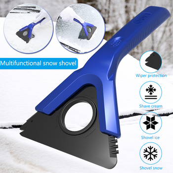 Multifunction Car Ice Scraper Detachable Blade Car Windscree Windshield Snow Wiper Blade Frost Removal Tool Winter Auto Tools