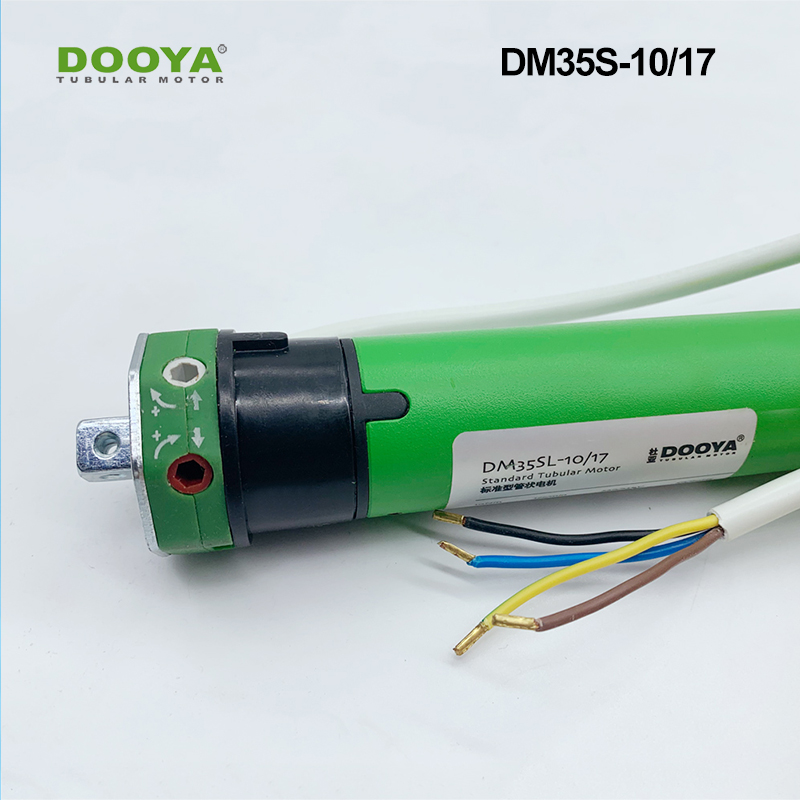 Dooya Four Lines External Strong Current  Motor For Motorzied Roller Blinds Zebra Blinds Tubular Motor DM35S10/17