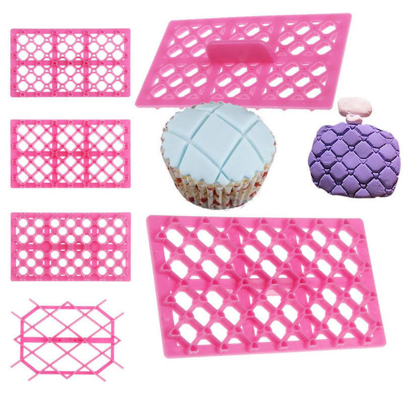 Kitchen Bake Cake Tools DIY Fondant Cake Molds Pastry Art Embossing Molds Cookies Mold Cutters Baking Supplies Cake Decor Tools
