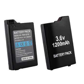 Game accessories For PlayStation Portable Backup Battery Pack 1200mAh SONY Lite PSP 2th PSP-2000 PSP-3000 PSP-3004 Batteries