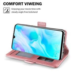 Image 4 - Für Nokia 7,2 Fall Leder Brieftasche Flip Stand Abdeckung mit Spiegel Stoßfest Shell Für Nokia 3,1 C Nokia 2,2 Fall karte Slot Luxus