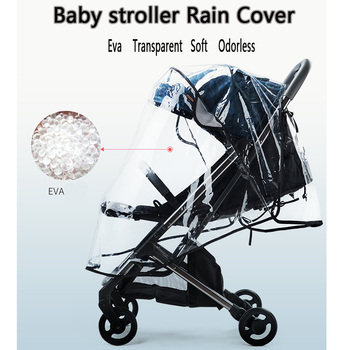 Baby Stroller Universal Waterproof Rain Cover Wind Dust Shield Baby Strollers Umbrella Rain Warm Cover For Baby Carriage ranavoar baby stroller accessories universal waterproof rain cover wind dust shield zipper open for baby strollers pushchairs