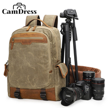 CamDress National Geographic bag Backpack DSLR Camera Bag Canvas Laptop Photo Waterproof breathable дождевик
