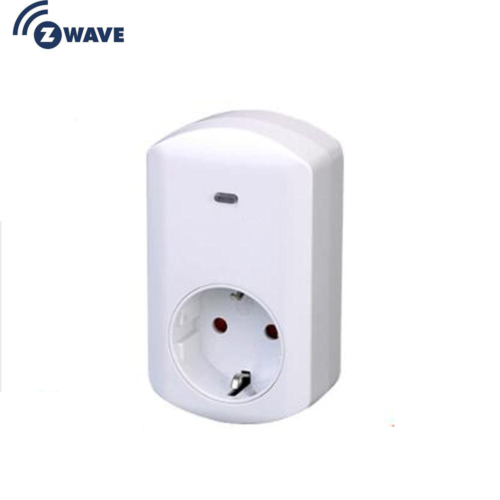 Haozee Dimmer Z-WAVE Plus EU Type Plug-in ON/OFF Z Wave 868.4MHz Video Frequency  Smart Home Automation