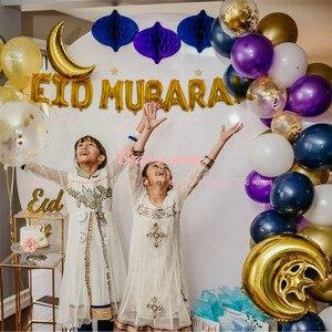 Image 3 - EID globos con letras de Mubarak para decoración de fiestas islámicas, musulmanas, al firt Eid, decoraciones Ramadán, Ramadan Mubarak, suministros para fiestas