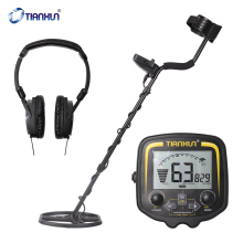 Metal-Detector TX-850 Underground High-Sensitivity Easy-Installation Metal Detecting Tool with LCD-Display Earphone
