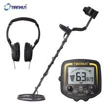 Metal-Detector TX-850 Underground High-Sensitivity Easy-Installation Metal Detecting Tool with LCD-Display Earphone