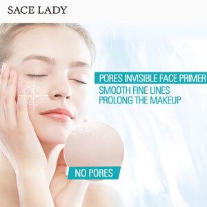 Image 5 - SACE bayan 1000 adet yüz baz astar makyaj sıvı mat makyaj ince çizgiler yağ kontrolü yüz kremi aydınlatmak vakıf kozmetik