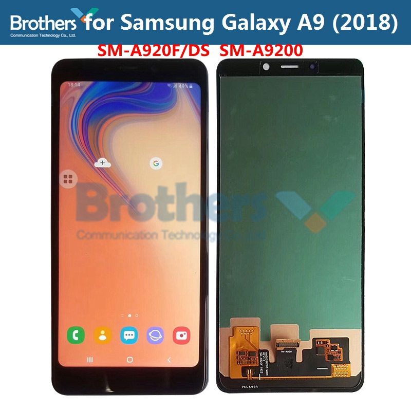For <font><b>Samsung</b></font> <font><b>Galaxy</b></font> <font><b>A9</b></font> 2018 A920F <font><b>LCD</b></font> <font><b>Screen</b></font> <font><b>LCD</b></font> Display for Samusng A9S <font><b>A9</b></font> Star Pro SM-A920F/DS Touch Digitizer <font><b>LCD</b></font> Assembly image
