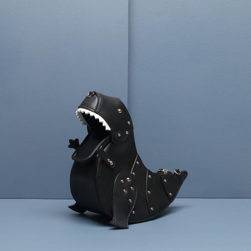 Mode femmes rétro sac à bandoulière sac à bandoulière sac à main dinosaure sac fourre-tout femmes marque de luxe design sac à main personnalité