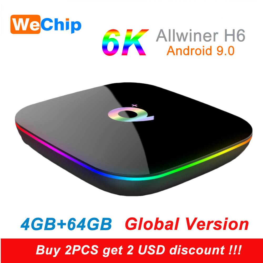 Media-Player Tv-Box Video 6K Smart Android 4gb 64gb Support MAX 9 Allwinner H6 HD Pk-H96