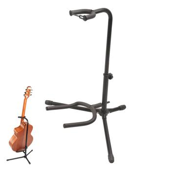 Aluminum Alloy Floor Guitar Stand with Stable Tripod Holder for Acoustic Electric Guitar Bass Guitar Stand aluminum alloy floor guitar stand with stable tripod holder for acoustic electric guitar bass guitar stand