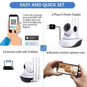 Image 5 - HD 1080P 720P bulut Wifi IP kamera akıllı otomatik izleme P2P IR Cut güvenlik kamera bebek izleme monitörü gece görüş ev kamerası