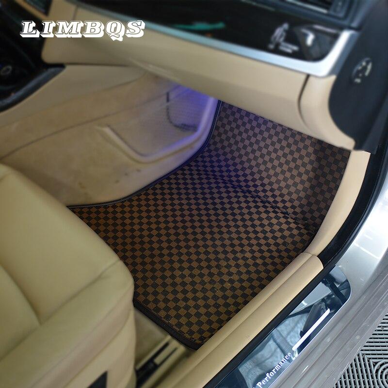 Tapis de voiture en cuir pour bmw f10 f11 série 5 imperméable anti-sale tapis de sol tapis de sol facile à nettoyer sans odeur couverture de tapis