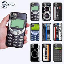 Vip Retro Camera Cassette Tapes Calculator Keyboard Cellphone Case Cover For Iphone 7 8 Plus X Xs Max Xr 11 12 Mini Pro Max